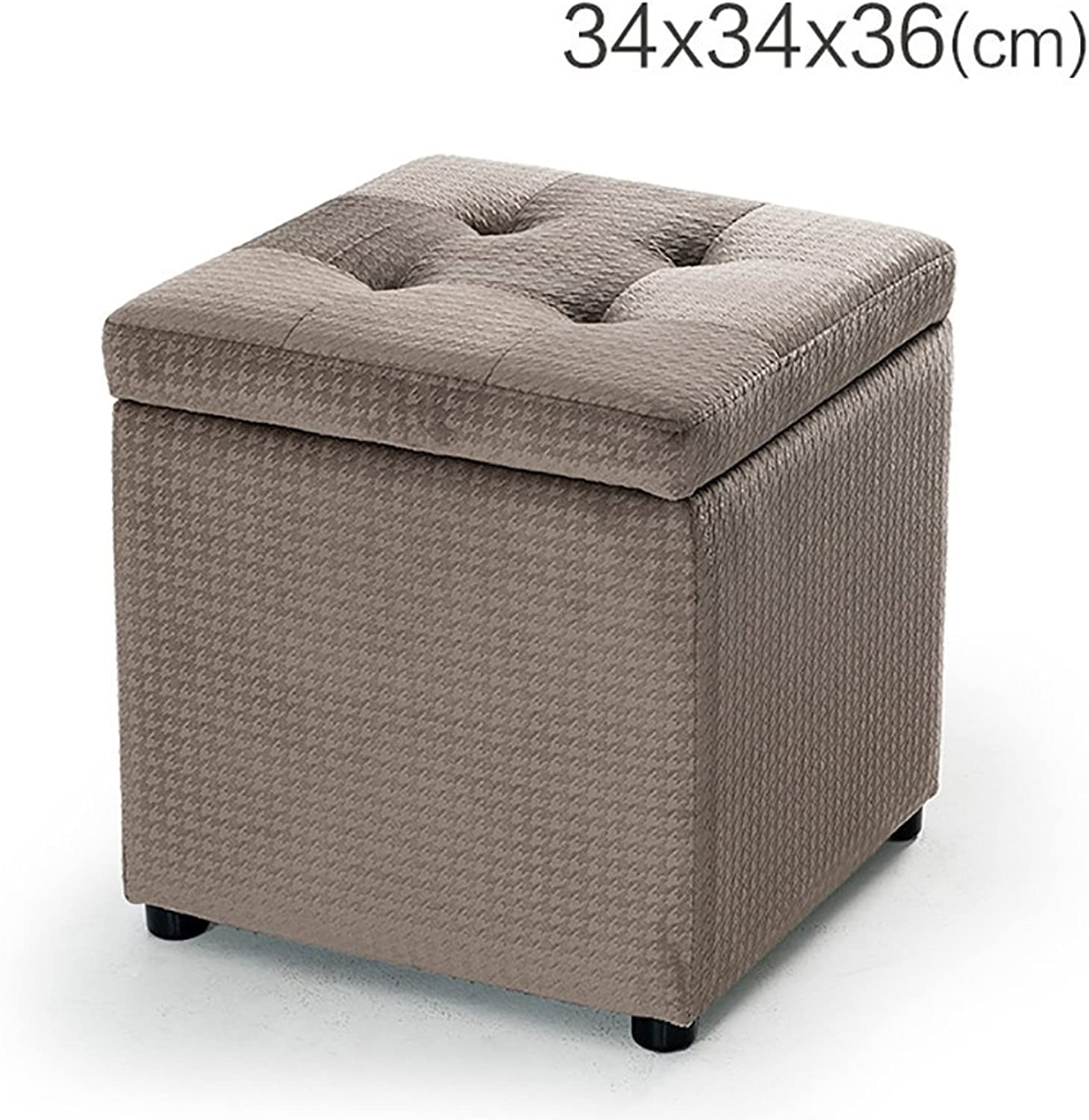 YUHUS HOME Admission stool bench stool Dianzi sofa stool storage stool stool footstool - small stool (color   C, Size   40  40  40cm)
