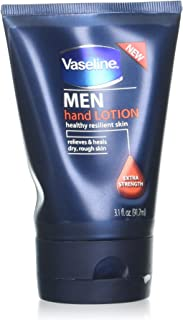 Vaseline for Men Hand Lotion, Extra Strength, 3.1 oz