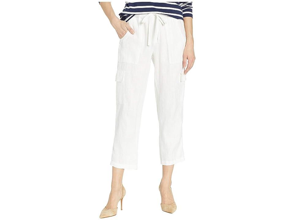 Sanctuary Discoverer Pull-On Cargo Pants (Brite White) Women