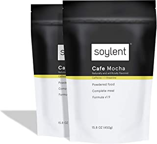 Soylent Cafe Mocha Meal Replacement Powder/Protein Powder, 2 Count Pouch