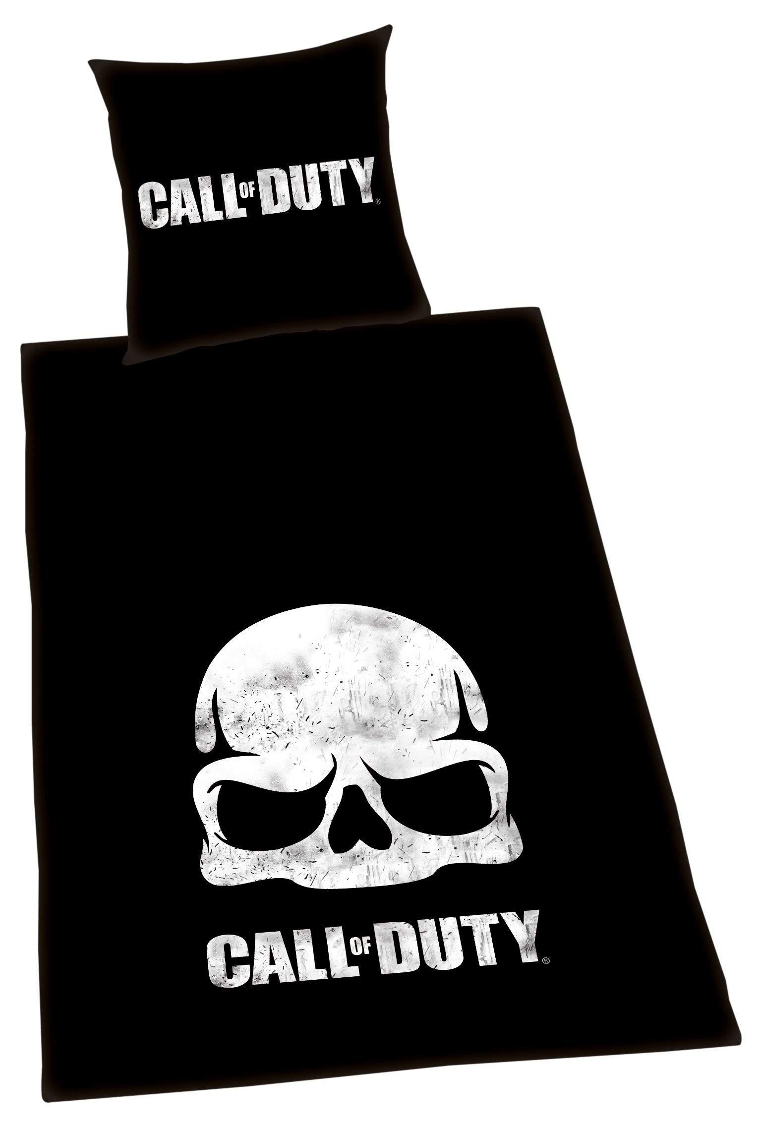Herding Call of Duty - Juego de Funda nórdica y Funda de Almohada (135 x 200 cm y 80 x 80 cm, algodón): Amazon.es: Hogar
