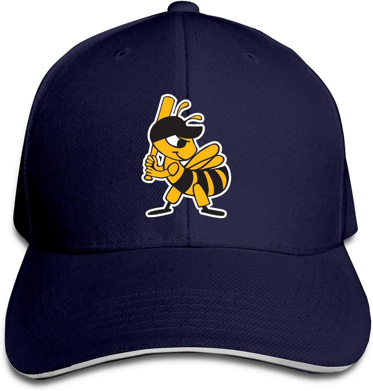 Salt L-AKE Bees Unisex Adult Baseball Cap Golf Baseball Cap Adjustable Sandwich Cap