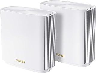 ASUS ZenWifi XT8 - Sistema Wi-Fi 6 Mesh Tri-Banda AX6600, Pack de 2 (Cobertura de más 510m2, AiProtection con TrendMicro, ...