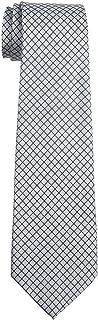 Retreez Check Textured Woven Boy's Tie - 8-10 years