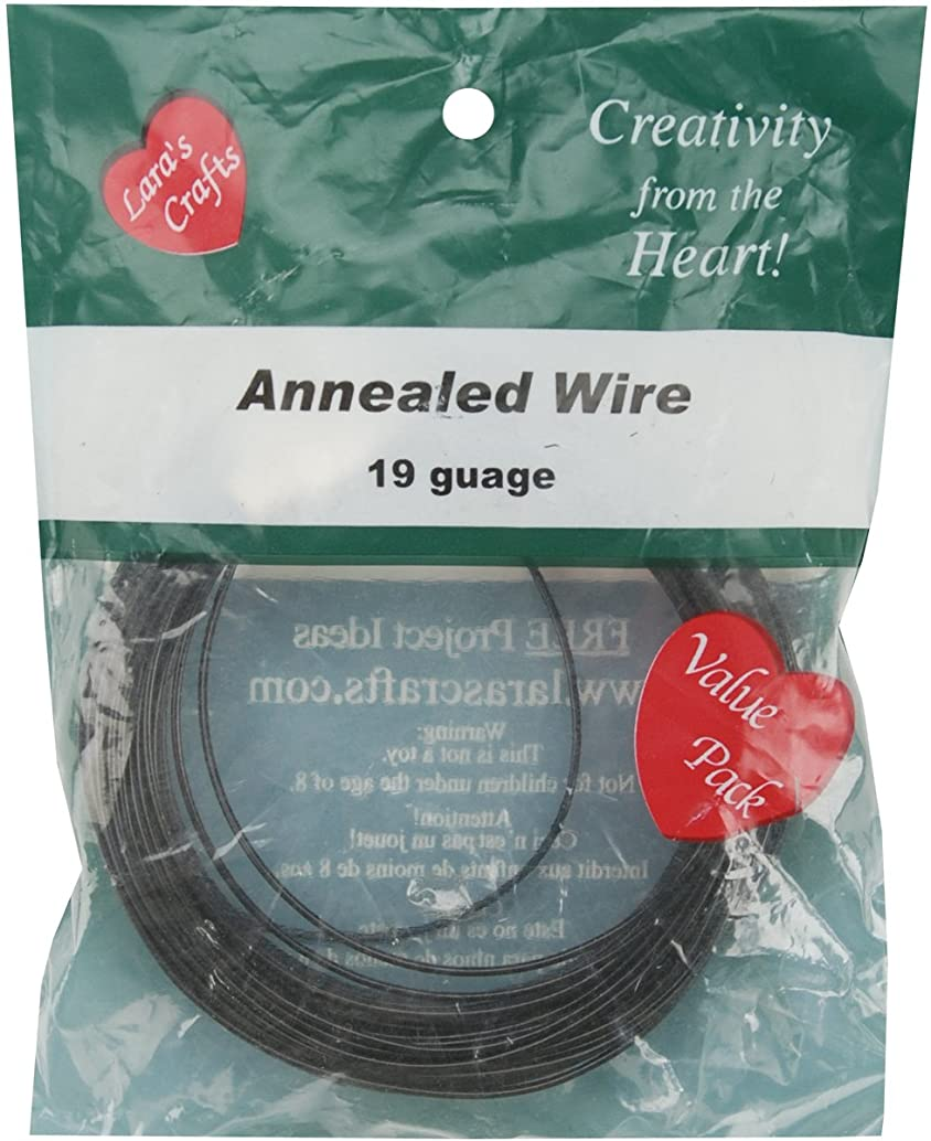 New Image Group 19-Gauge Annealed Wire, 50-Feet
