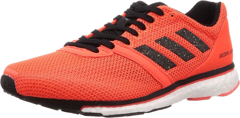 Adidas Adizero Adios 4 W Solar rot schwarz