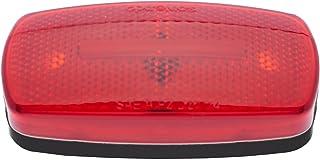 Optronics MC32RBBP Red/Black Rectangular Reflector Clearance Marker Light