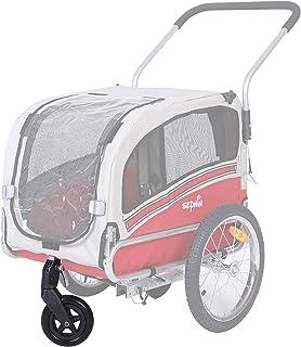 Leonpets - Rueda Delantera Universal de 6 Pulgadas para Remolque de Bicicleta para Mascotas