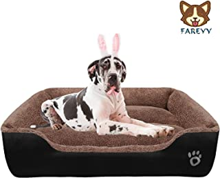 Dog Beds for Medium Dogs Washable Indoor Outdoor Pet Bed Waterproof Pillow Dog Bed Soft SONGWAY Pet Bed Sofa Orthopedic Dog Beds for Large Dogs