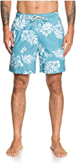 Quiksilver Men's Floral Feelings Volley 18 Swim Trunk Boardshorts