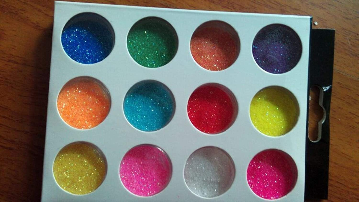12jars box Classic Extra Fine Glitter for favorite polyester Nails or Crafts meta