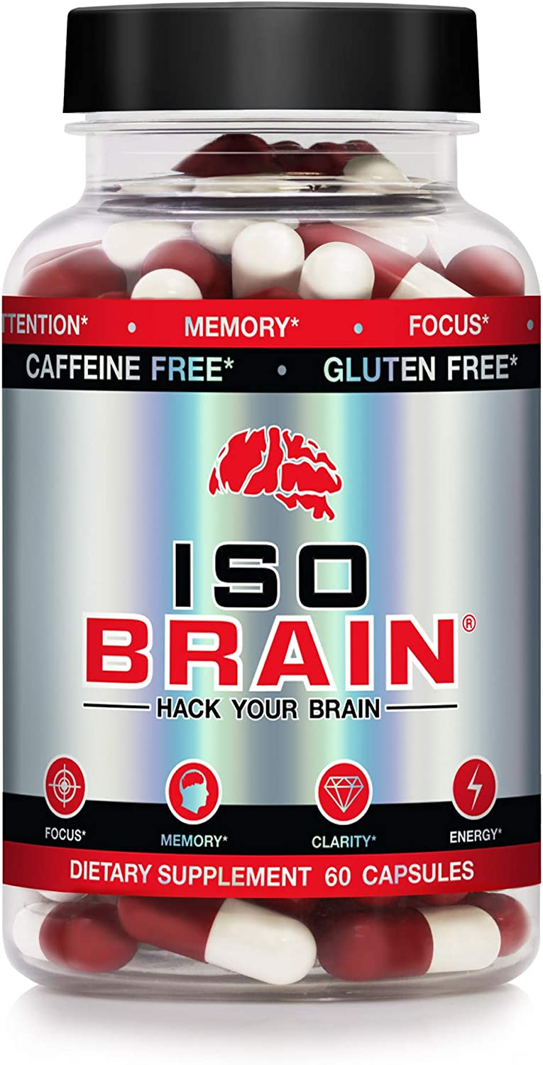 Iso Columbus Mall Brain - 4 years warranty Advanced Nootropic Cognizin Supplement Ch with