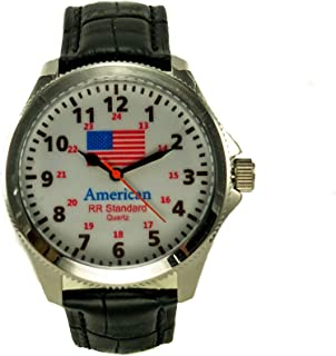 railroad wrist watch