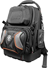 Klein Tools 55485 Tool Bag Backpack, Durable Electrician Backpack with 48 Pockets for..