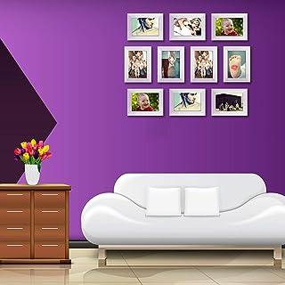 ArtzFolio Wall Photo Frame D450 White 4x6inch;Set of 10 PCS