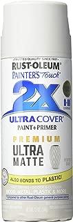 RUST-OLEUM 331184 Painters Touch 2X 12 OZ Perfect Gray Matte Spray Paint