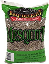 Mesquite Flavor BBQR's Delight Smoking BBQ Pellets 20 Pounds