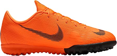 kids orange nike shoes