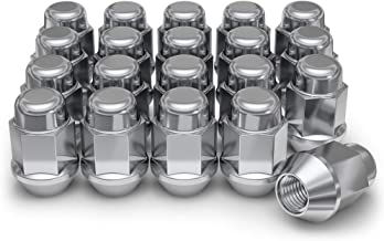 Buyer Needs to Review The spec 20pcs Chrome 1//2-20 UNF Wheel Lug Nuts fit 1981 Jeep CJ5 May Fit OEM Rims