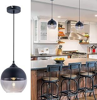 Foyer Contemporary Chandelier Pendant Lights 1-Light Loft...