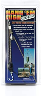 Rope Ratchet HH20 Hang 'em High Rope Hoisting, Hanging Feeder Pulley System - Block and Tackle Rope Hoist, 20-feet Solid Braided Rope & 250lbs Weight Capacity