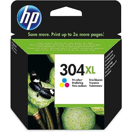 HP N9K07AE 304XL High Yield Original Ink Cartridge, Tri-Color, Single Pack