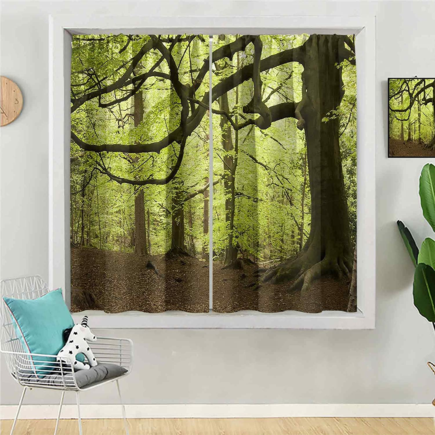 Blackout Curtain 84 wholesale inches Omaha Mall Long Kids Window for Panel Be