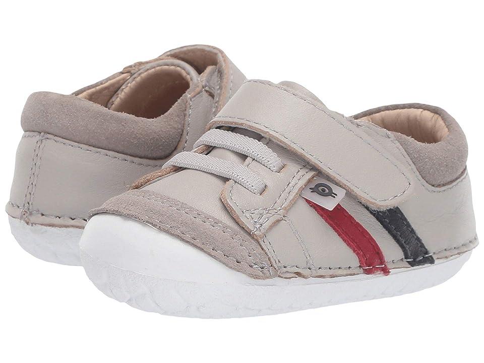Old Soles Pave Denzle (Infant/Toddler) (Gris/Red/Navy) Boys Shoes