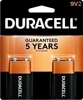 Bateria Duracell Alcalina 9V com 2 Unidades