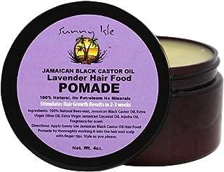علبة دهن شعر بوميد ارجواني باللافندر الجامايكي بسعة 4 اونصة من ساني ايزل