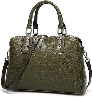 c6e85023400d3 Crocodile Pattern Shoulder Bag For Women Leather Handbags Women Vintage  Alligator Luxury