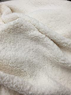 sherpa fleece fabric by the yard
