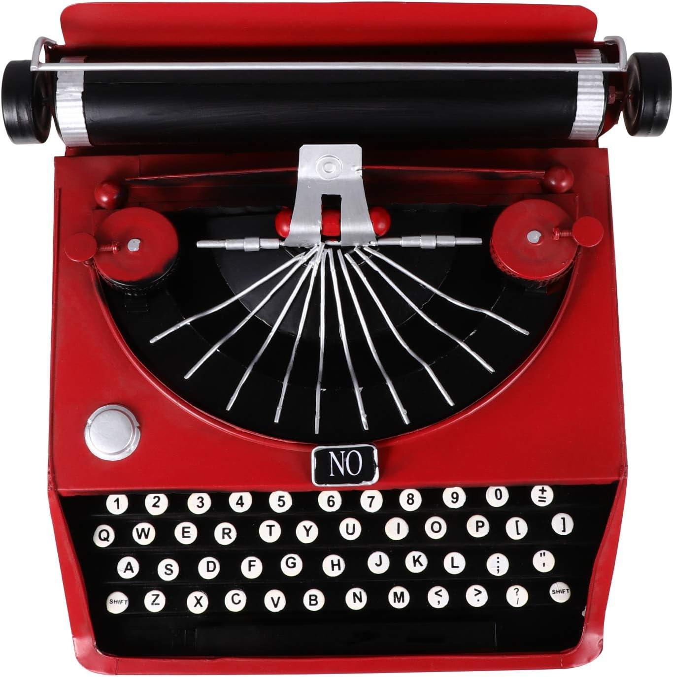 BESPORTBLE Vintage Max Save money 82% OFF Typewriter Retro Model Manual Type