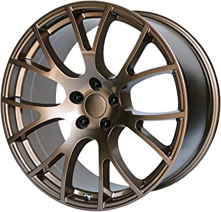 OE CREATIONS PR161 Copper Paint Wheel with Brushed (20 x 10. inches /5 x 71 mm, 18 mm Offset)