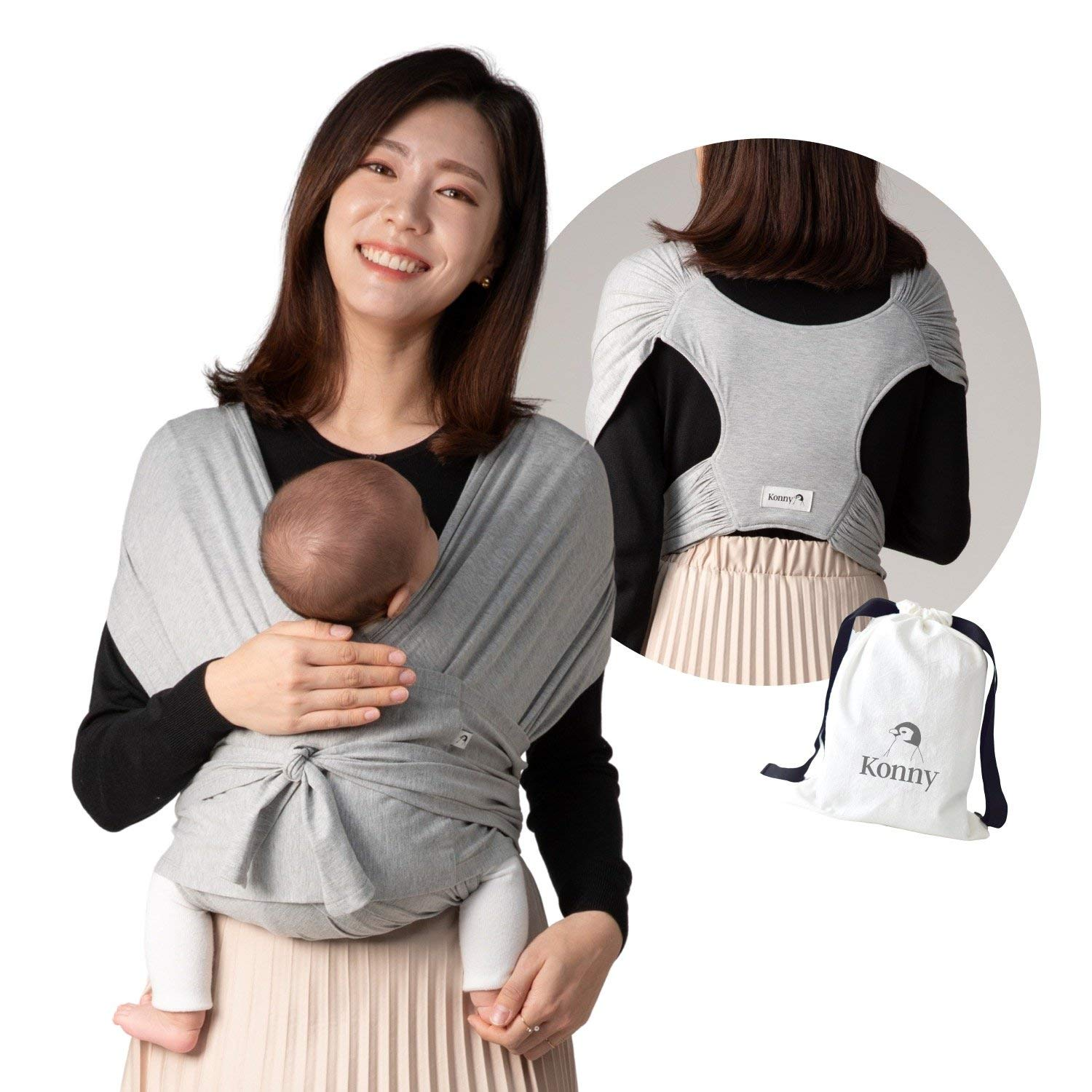 Konny Baby Carrier price Ultra-Lightweight Large-scale sale Sl Wrap Hassle-Free