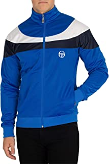 Sergio Tacchini Men's Logo Track Jacket, Blue