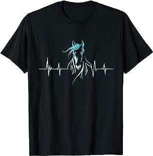 Horse Heartbeat T-Shirt - Horse Lovers Tee