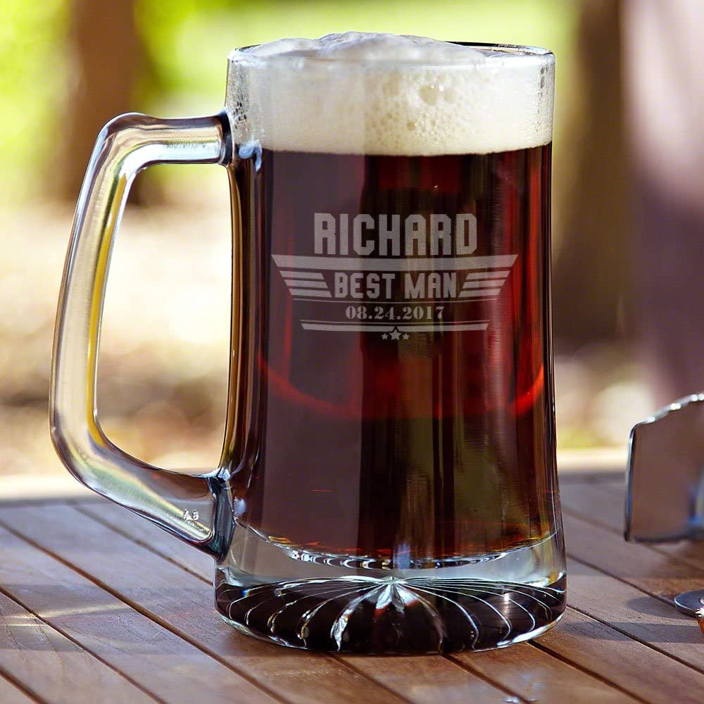 Maverick Inexpensive Custom Glass 5 ☆ popular Beer Product Personalized Mug