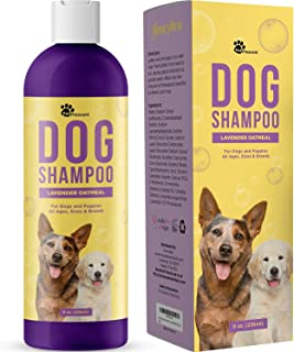 Natural Dog Shampoo for Smelly Dogs – Refreshing Colloidal Oatmeal Dog Shampoo for..