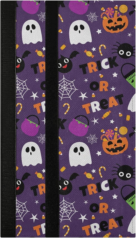 Oarencol Halloween Refrigerator Door Handle Covers Pumpkin Bat G