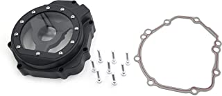 SMT MOTO- Motorcycle Engine Stator cover see through FOR Suzuki 2005 - 2008 GSXR1000 Black left