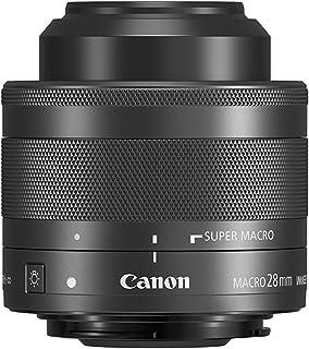 Canon 1362C005 EF-M 28mm f/3.5 Macro lens with built in macro lightLens,Siilver(EFM28MU), 28 mm