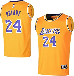 84b440312 Outerstuff Youth Los Angeles Lakers #24 Kobe Bryant Kids Basketball Jersey