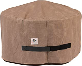 Duck Covers Elite Round Fire Pit Cover, 50-Inch