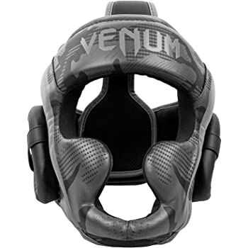 Venum Elite Headgear - Black/Dark camo