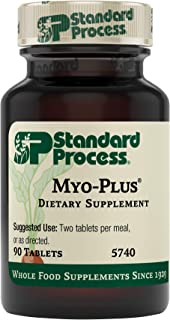Standard Process Myo-Plus - Whole Food Antioxidant, Blood Flow, and Heart Health with Spanish Moss, Calcium Lactate, Ribof...