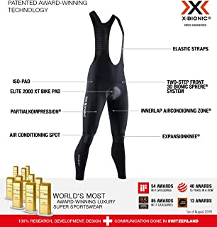 X-Bionic Invent 4.0 Bike Bib Pants Men Cycling Padded Ciclismo ...