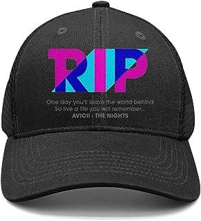 87a2f2e8d3def Adjustable Fits dad hat for Men Avicii-True- Cotton Baseball Cap Unisex  Back Closure