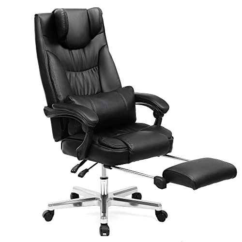 Office Chair With Footrest Amazoncouk