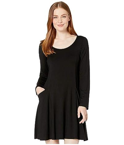 Karen Kane Pocket Dress (Black) Women